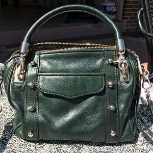Rebecca Minkoff Dark Green Shoulder Bag